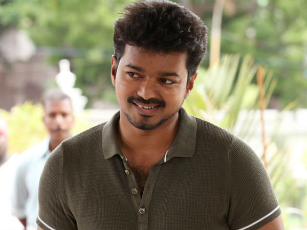 Actor Vijay gave rs. 10 lakh worth relief things to Nepal