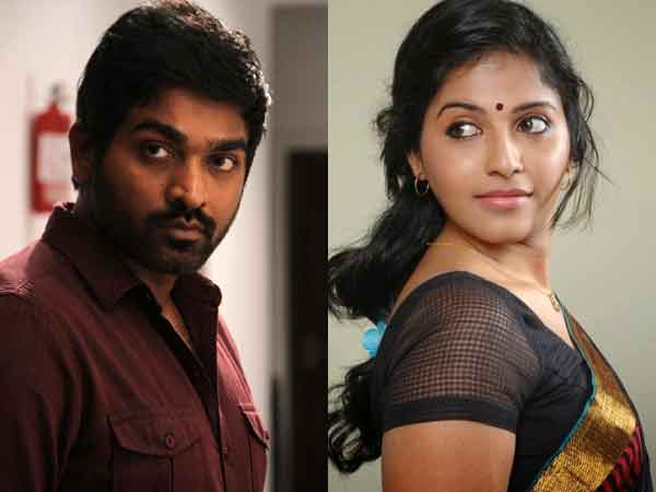 Anjali to be Viajay Sethupathy's pair in Iraivi