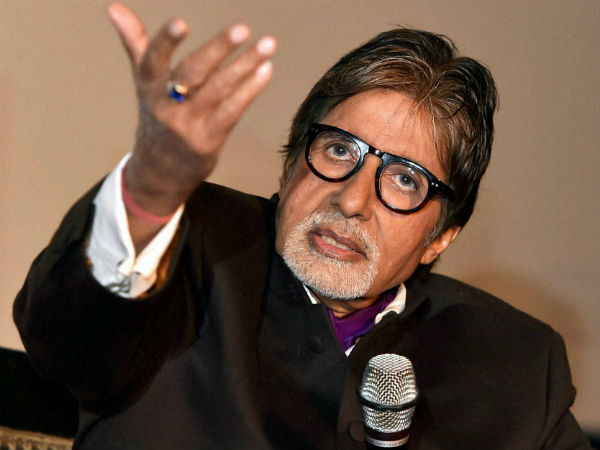 Amitabh Bachchan in trouble over 'poem', slapped Rs 1 crore notice