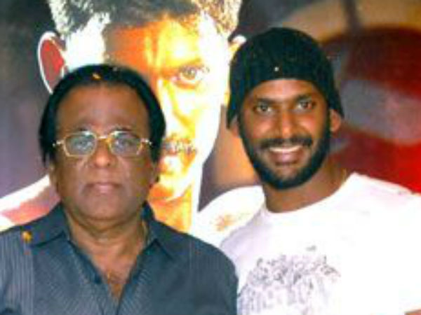 Vishal's father GK Reddy turns actor