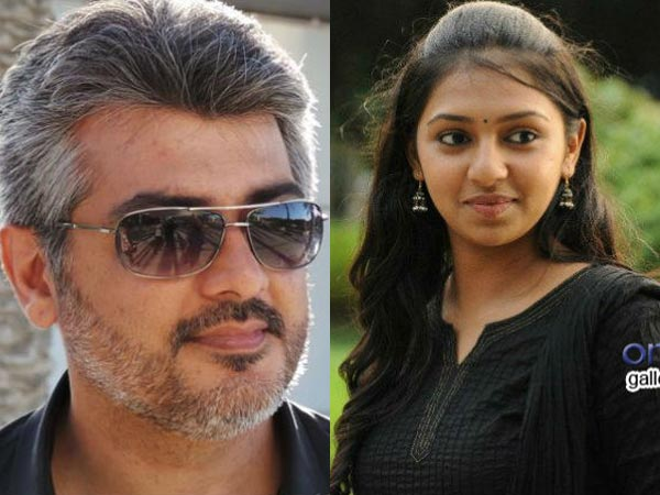 Ajith suprises Lakshmi Menon with a gift