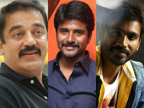 Kamal Haasan vs Dhanush vs Sivakarthikeyan: ' papanasam ' to Clash with 'Maari' and 'Rajinimurugan'?