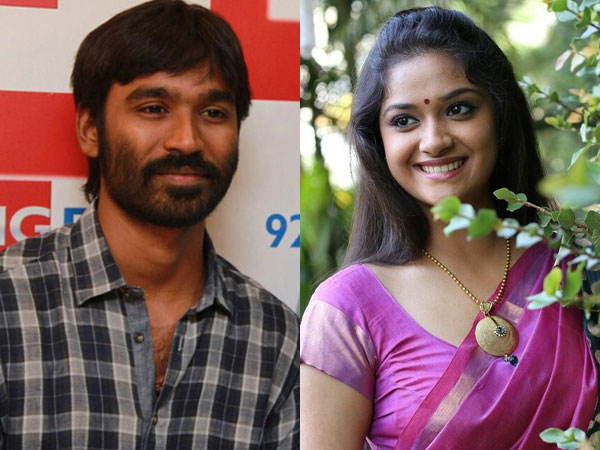Keerthi Suresh is Dhanush's next heroine