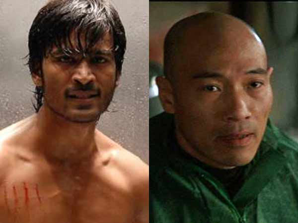 Hollywood stunt director Roger Yuan in Dhanush Movie