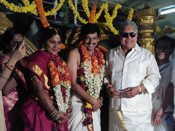 Actor Vidharth marriage held at Thiruppathi