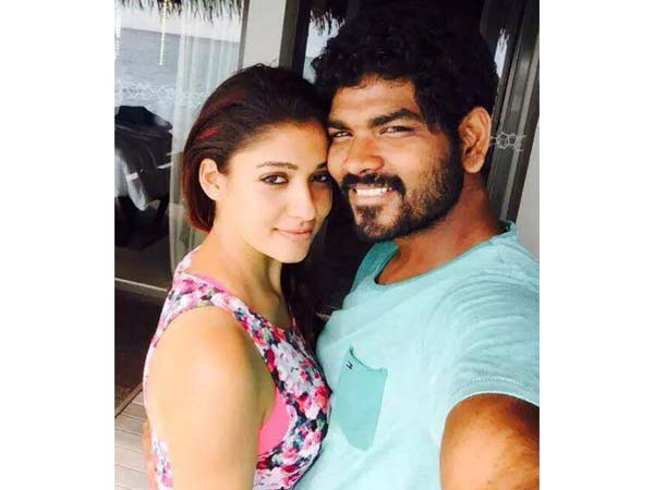 Nayanthara's romantic selfies with Vignesh Sivan