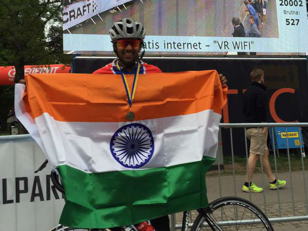 International Cycle Race Arya Win's The Medal