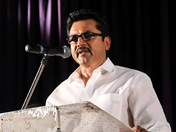 We never afraid to face Vishal and co in Elections, says Sarathkumar