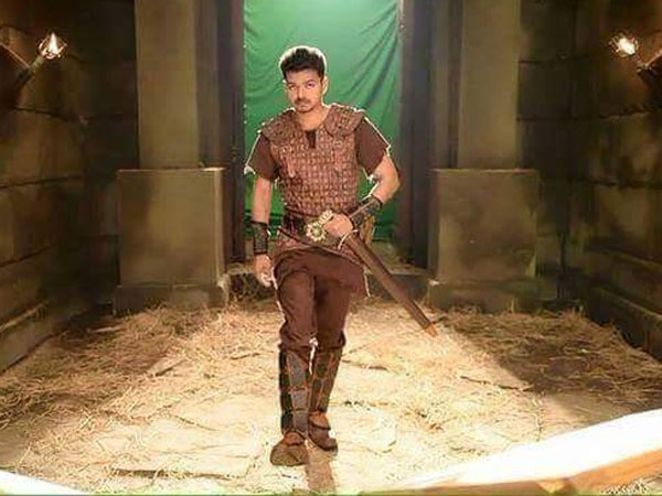 Vijay's Puli is like Russell Crowe's Gladiator in Tamil