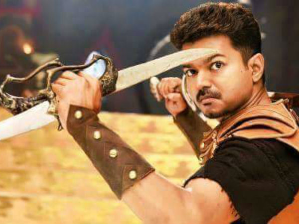 Vijay learnt sword fight for Puli