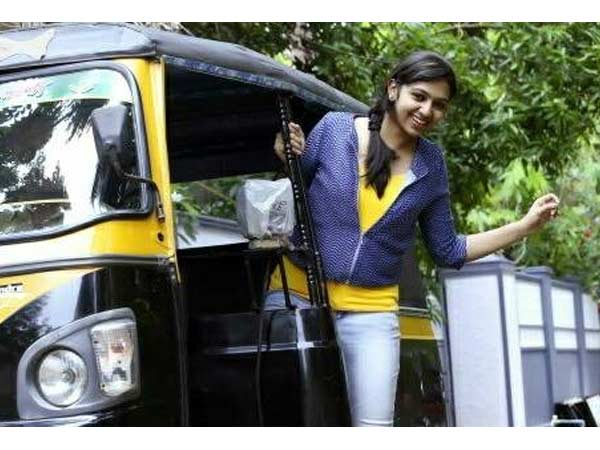 Lakshmi Menon's first day at College!