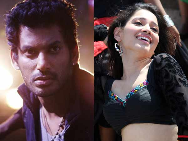 Vishal's next heroin is Tammannah