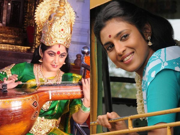 "Annamaya Shooting Time: Ramya Krishnan And Kasthuri Both Heroines Asking For ""Chicken"""