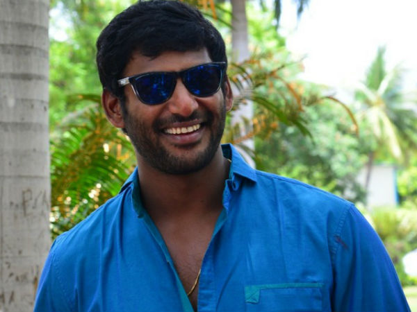 Vishal donates 1 lakh notebooks to poor students