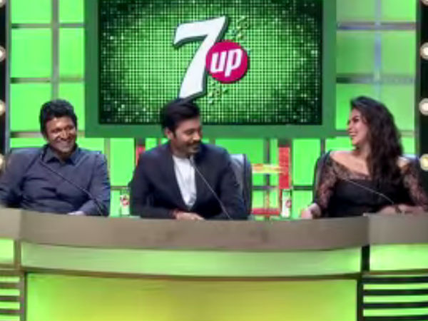 Sun Tv 7up Up Starters‬ Grand Finale Dhanush, Puneeth Rajkumar And Amala Paul