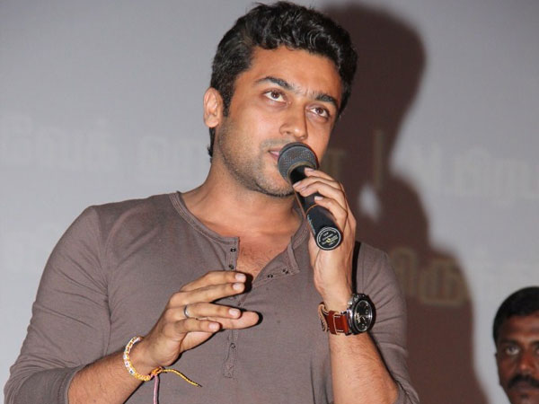 Surya thanking everyone for wishing him on his Birthday
