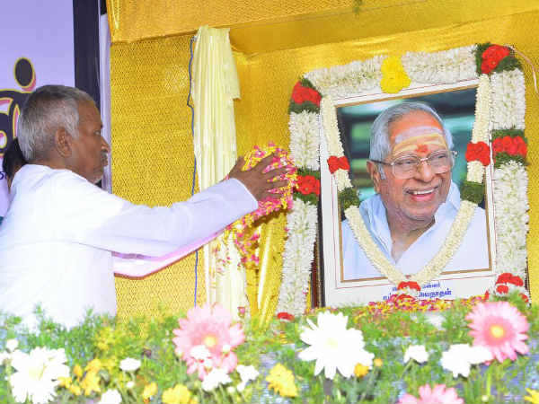 Big statue for MS Viswanathan, says Ilaiyaraaja