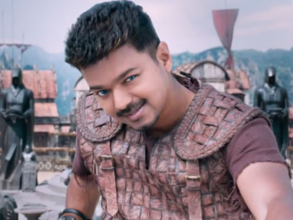 Puli Telugu Rights Rs 8 Crores
