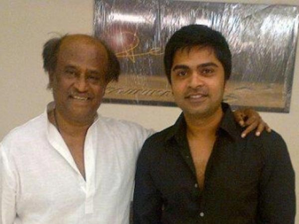 Rajinikanth wished Simbu for Vaalu release