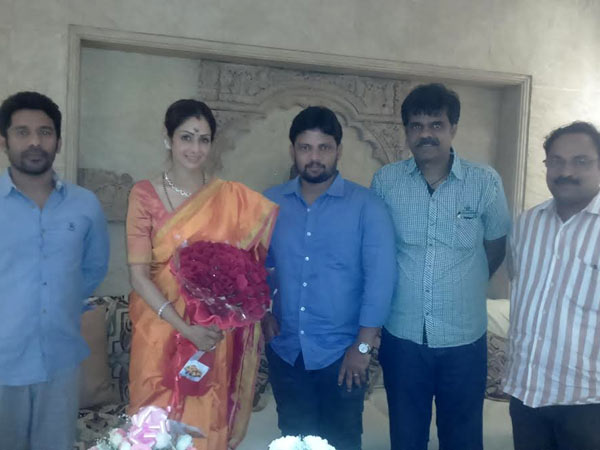Puli team wishes Sridevi