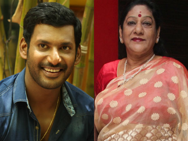 Vishal starts educational trust in the name of his mother