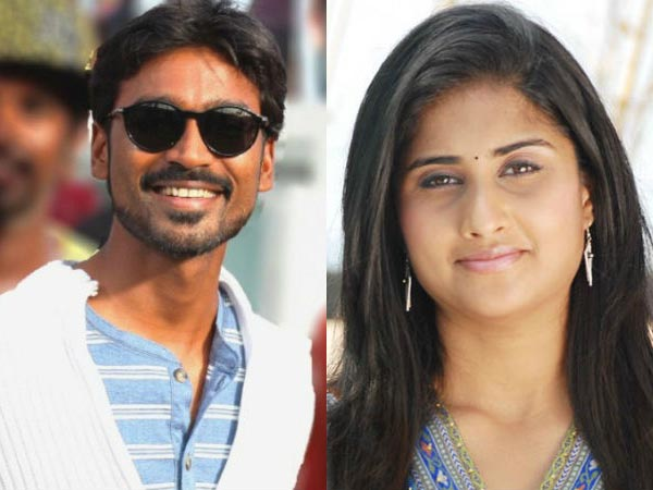 Shamli to play as Dhanush's pair