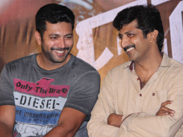 Jayam Brothers' tearful thanks for the success of Thani Oruvan