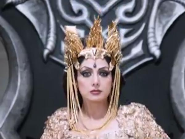 Sridevi to Dub Her Voice for Puli's Tamil Version