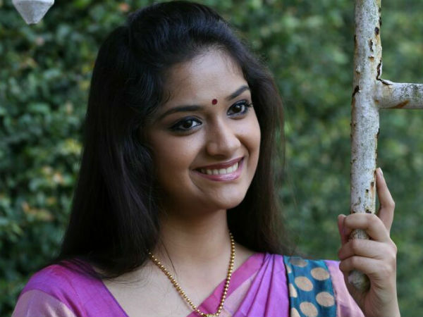 Keerthy Suresh in Mani Ratnam's Next Movie Heroine