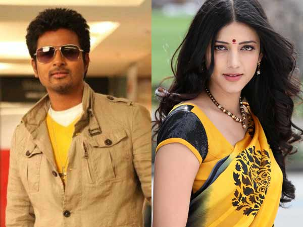 Shruti approached for Sivakarthikeyan's next Movie?