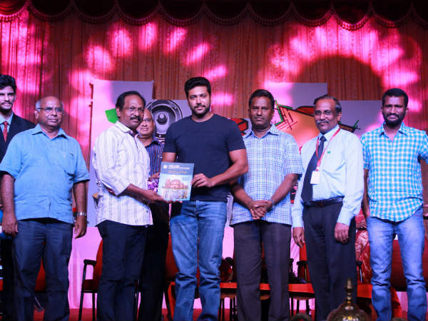Jayam Ravi releases Single track of Vil Ambu