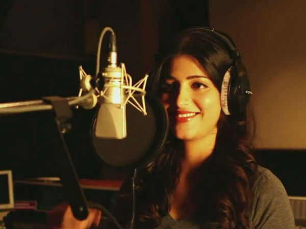 Shruti Haasan Sing a Song in Ajith's Vedhlam