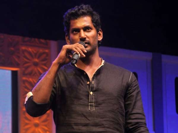Vishal ready to face any consequence in Nadigar Sangam issue