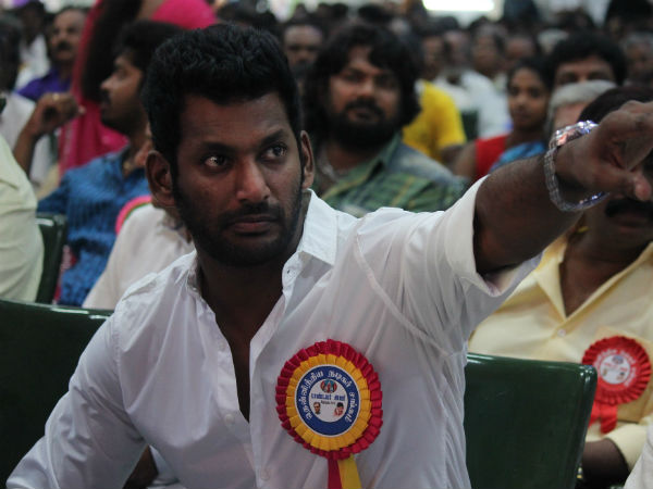 Vishal's Team Published their Election Manifesto