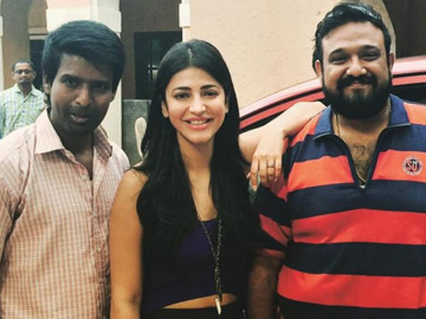 Thank You to the entire Team of Vedhalam - says Shruti Haasan