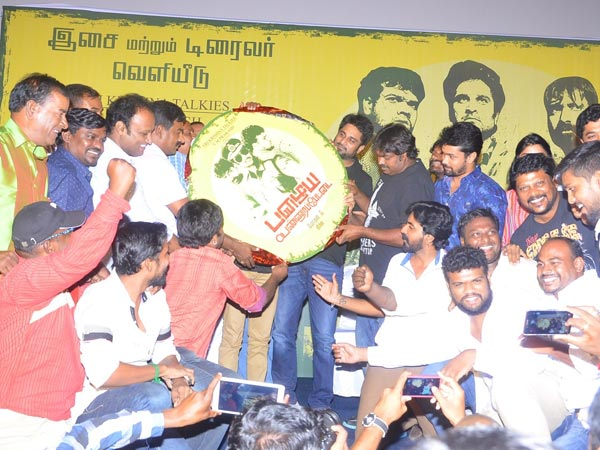 Actor tears at movie audio launch