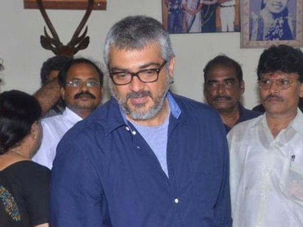 Ajith Pays Tribute Manorama Aachi