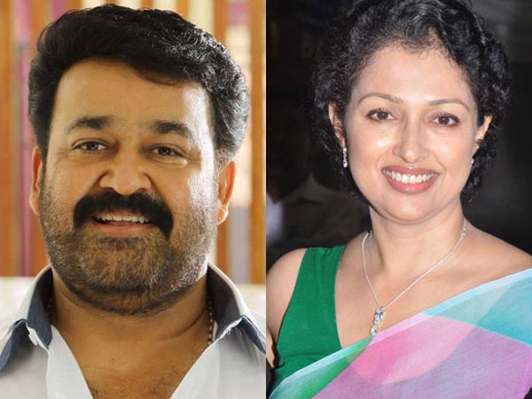 After 18 years Gauthami opposite to Mohanlal