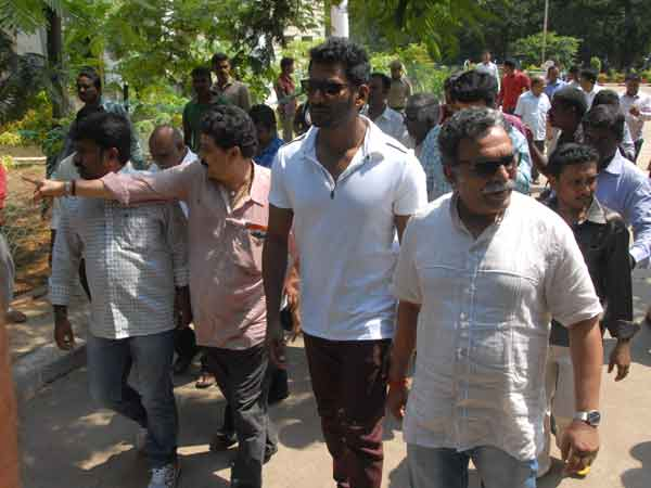 Vishal team seeks additional security to vote boxes