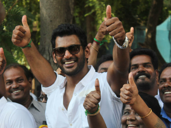 20 candidates from Vishal team elected for executive committee