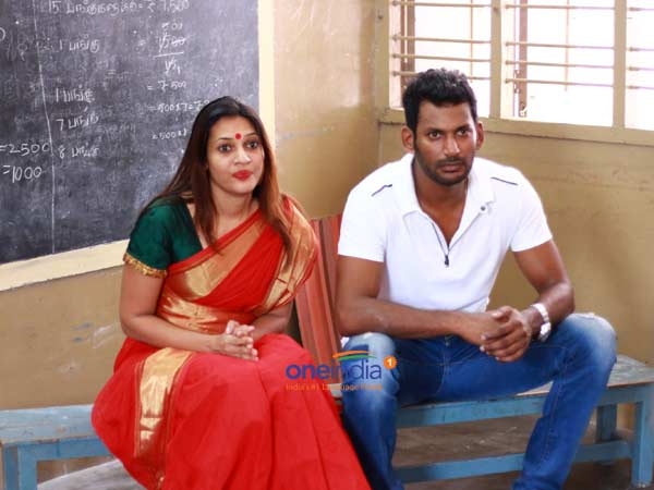 Vishal vows to present 1000 shoes to children, whenever he purchase shoe for him!