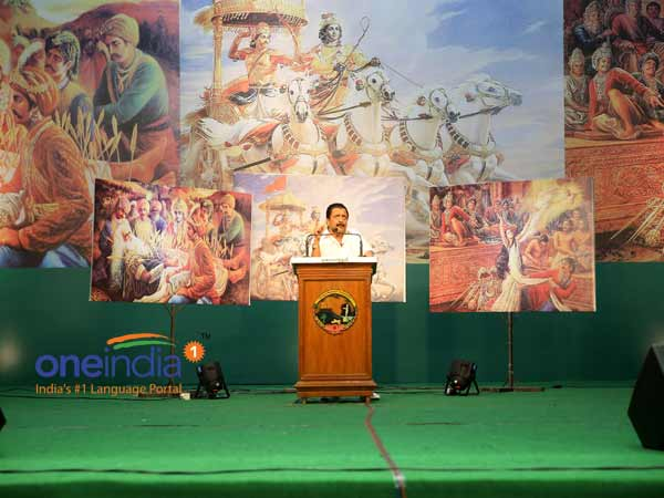 Sivakumar narrates Mahabharatham in 2.15 hours