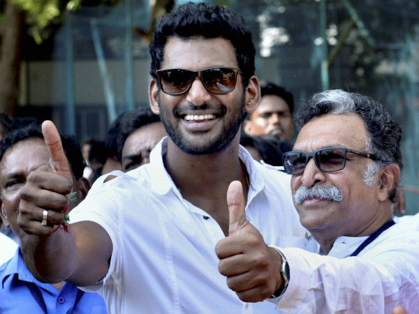 Vishal, Nasser to speak with Sathyam Cinemas