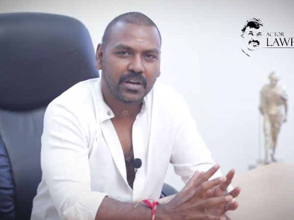 Actor Raghava Lawrence Today Joined Facebook, Twitter