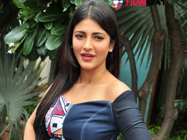 Shruthi Haasan comments on Chennai rain