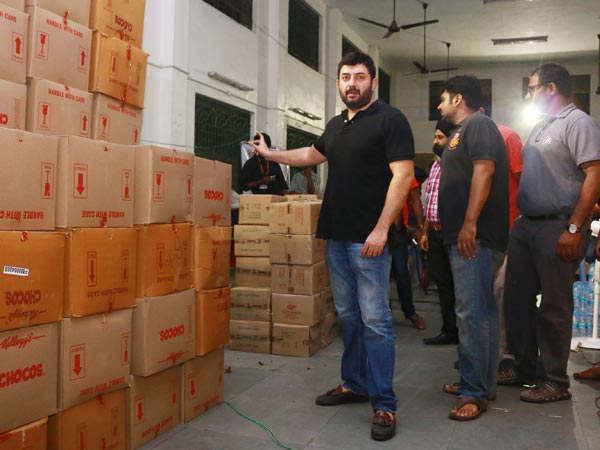 Arvindswamy provides medical air to 2 lakh families