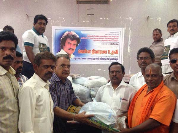 Rajinikanth's flood relief reaches next stage in Cuddalore