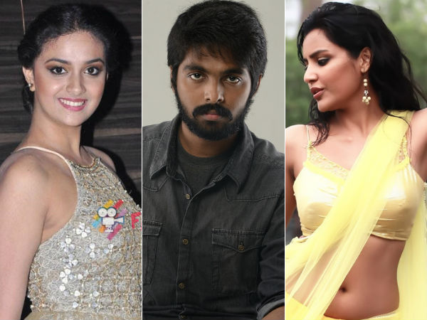 G.V.Prakash Team Up with Keerthy Suresh, Priya Anand