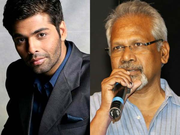 Karan Johar join hands with Mani Rathnam