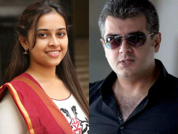 I Wish to Act Ajith's Pair, Not Sister says Sri Divya